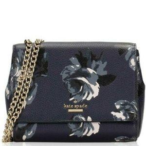 HP🎉 Kate Spade Midnight Rose Blue Crossbody Bag